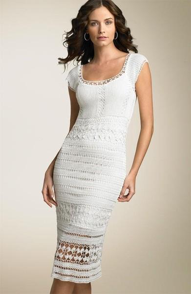 Белое платье из NORDSTROM