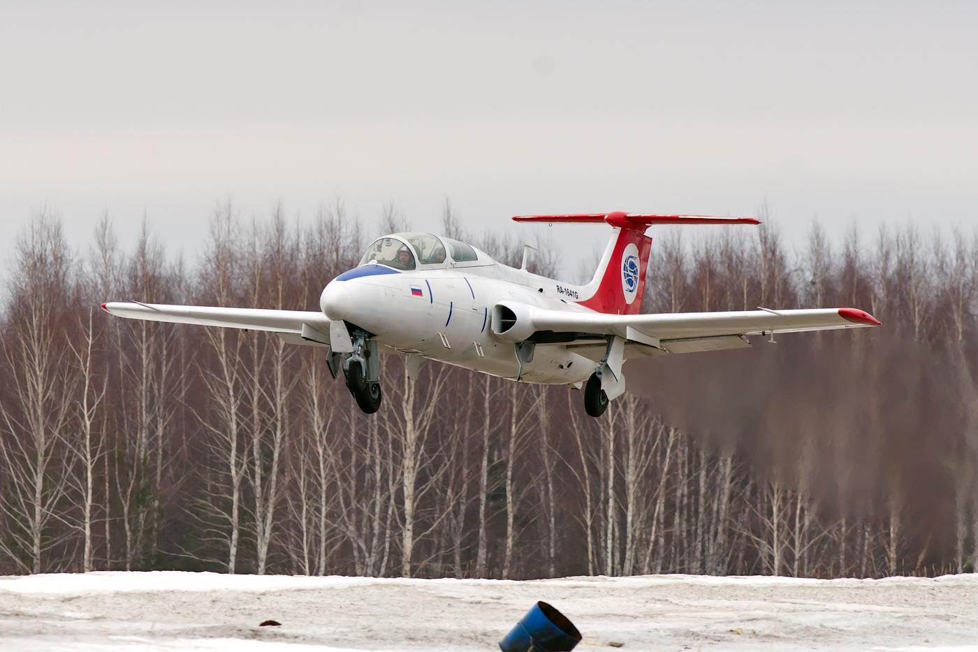 Полёт на л-29 в подарок 25