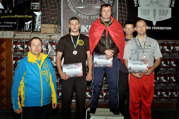 Результаты турнира России по ножевому бою 18 ноября 2012 года.
