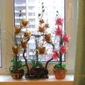 Бисероплетение - Цветы -83 из бисера.