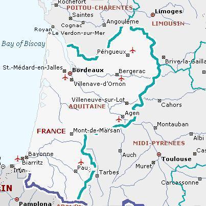 Ирина, правильно ли я поняла, что Вас интересует историческая область Франции, центром которой является город Бордо.