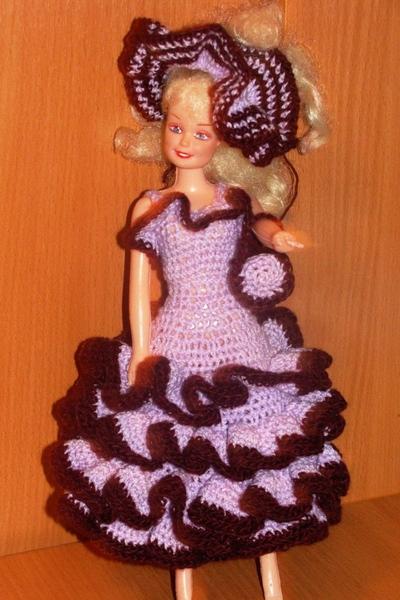 Самое первое платье для барби
