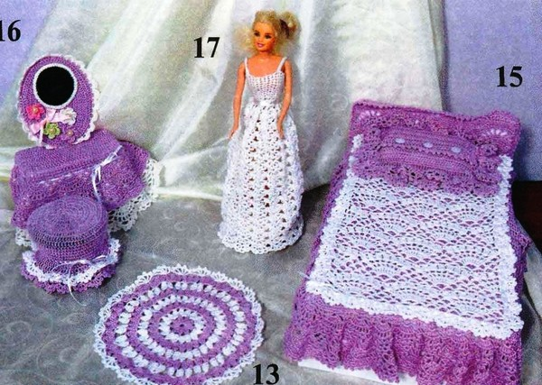 """Мебель для Барби (из журнала """""""