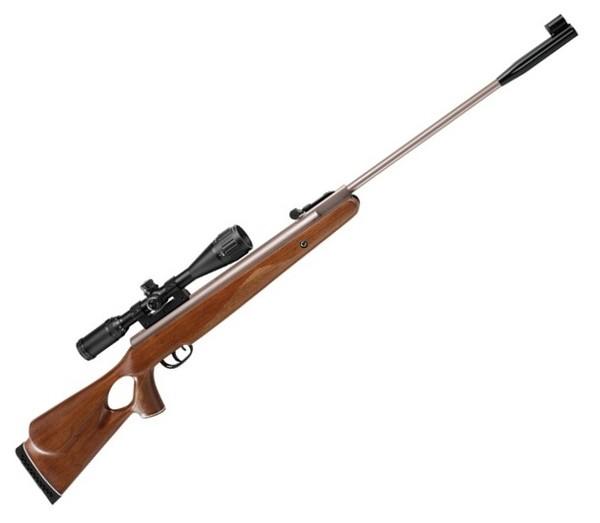 Пружинно-поршневая пневматическая винтовка.  Пожалуй самая распространённая схема, среди пневмы.