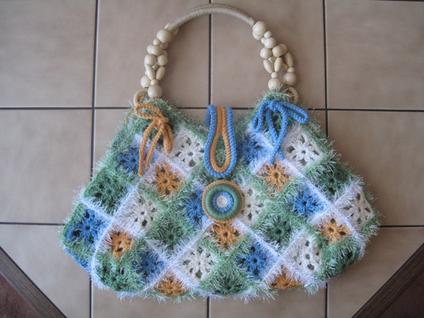 crafts bags: free crochet pattern