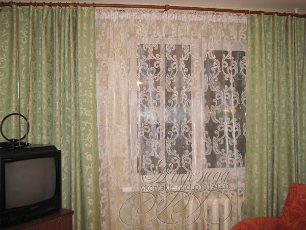 Занавески и шторы выкройка