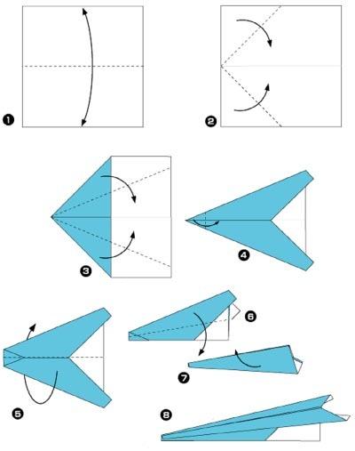 как сделать крутой самолетик