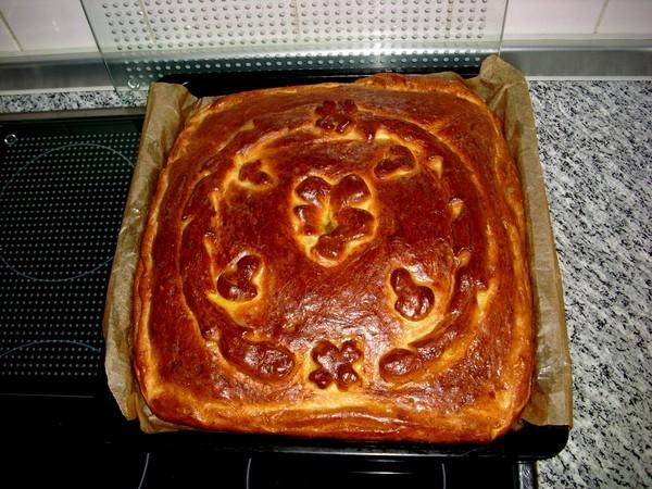 Курник-блинчатый пирог