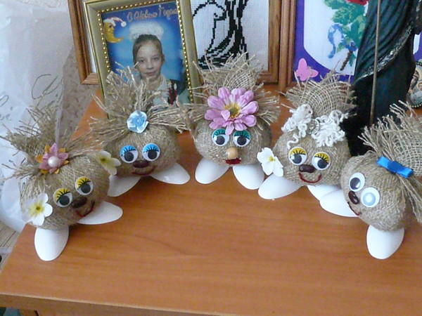 Как сделать глаза для куклы своими руками