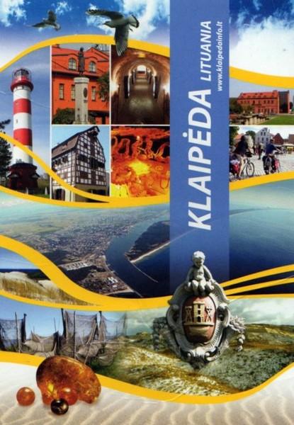 Литва Клайпеда Реклама центр туризма