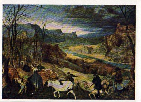Питер Брейгель Возвращение стад 1565 СХ 1966