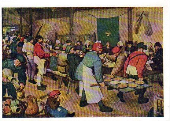 Питер Брейгель Крестьянский праздник 1567 СХ 1966