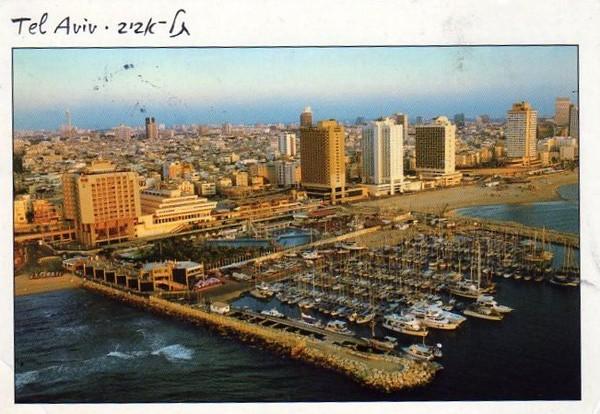 Израиль Тель Авив Набережная 2002