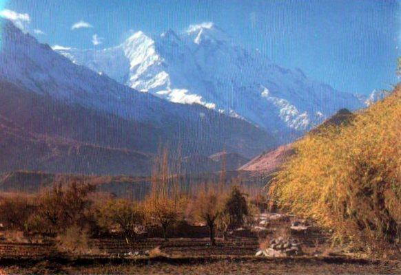Пакистан Нагар Ракапоши (7787м) 2012