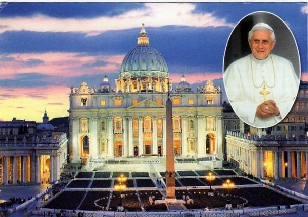 Ватикан Собор Св. Петра 19.06.2012