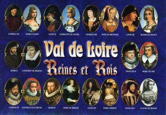 Франция Короли и королевы Франции, которые связаны с Луарой 2012