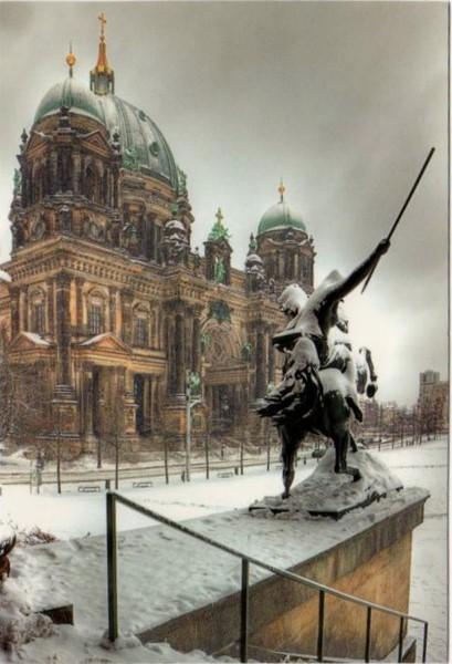 Германия Берлинский кафедральный Собор 1984 Берлин