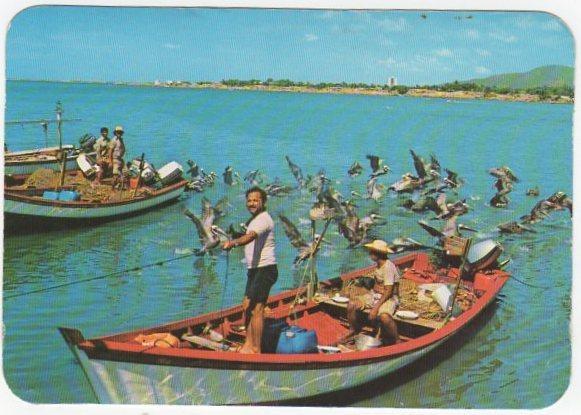 Венесуэла Исла де Маргарита Рыбаки