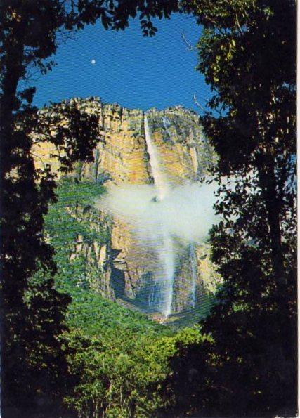 Венесуэла Водопад Ангел.