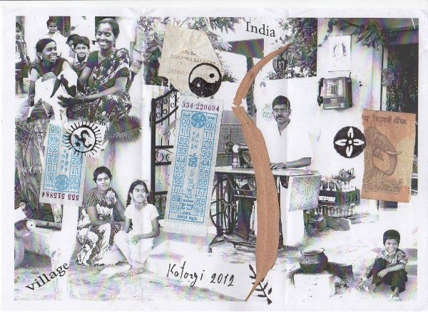 Катаргин В. Коллаж Индия 2012