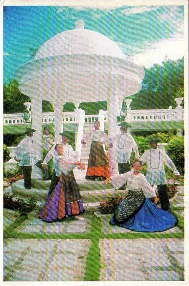 Филиппины танец Манила 2002