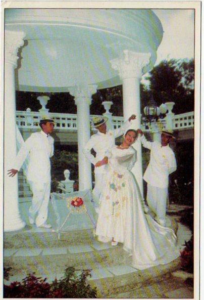 Филипины танец Манила 2002