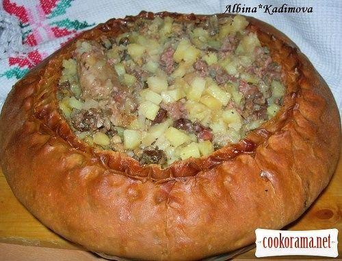 Башкирская кухня рецепты с фото выпечка