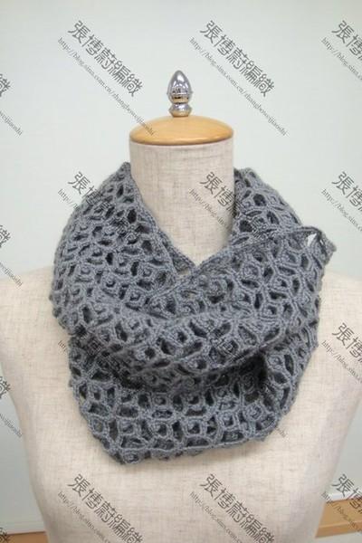 ажурный шарф-2