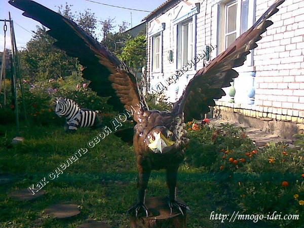 Орел своими руками фото