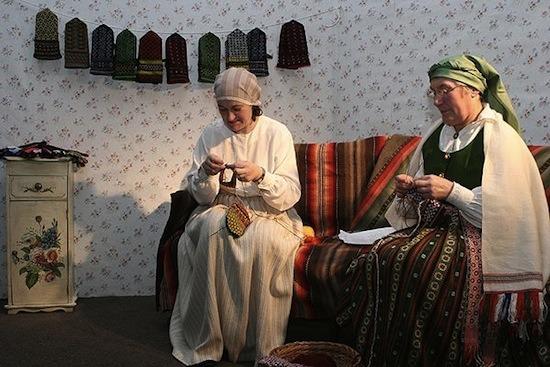 История вязание в наше время