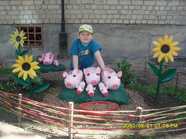 Поделки своими руками для детского сада на тему лето фото