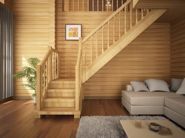 Лестница в загородный дом: что выбрать?