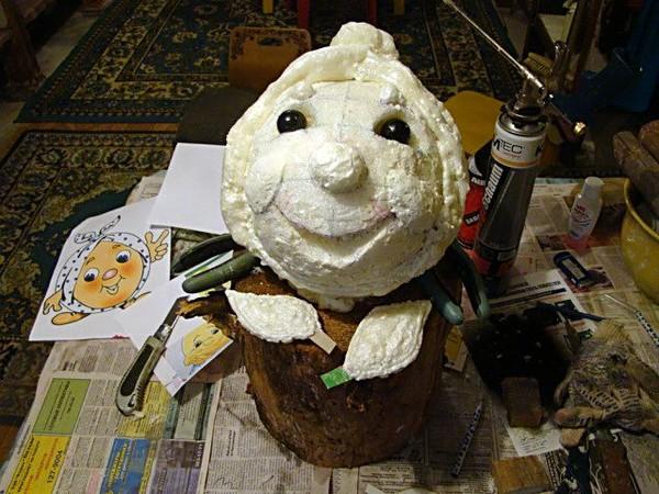 Фигурка из шаров своими руками