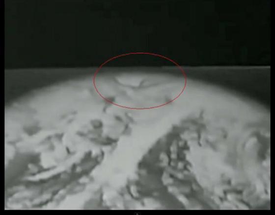 Вид из космоса .