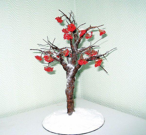 Альбом пользователя Gena. дерево объёмное. красный.  0. Повтор снежной рябины.  По мотивам Юточки.