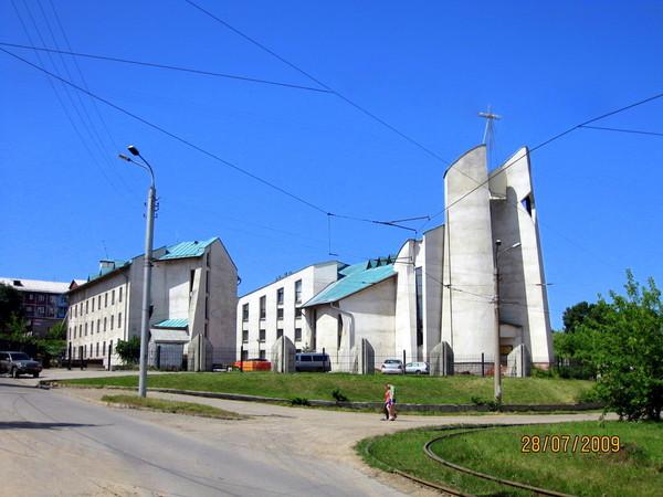 Фото Иркутск Католический кафедральный собор Непорочного Сердца Божьей Матери