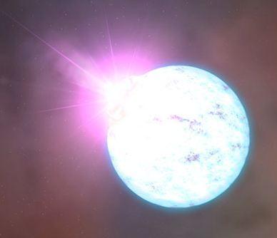 Открыта своеобразная нейтронная звезда  1E 2259+586