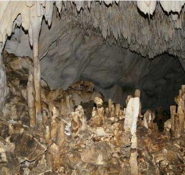 <b>Таврская</b> пещера, Внутренняя гряда Крымских гор
