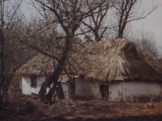 Украинская хата 19-го века