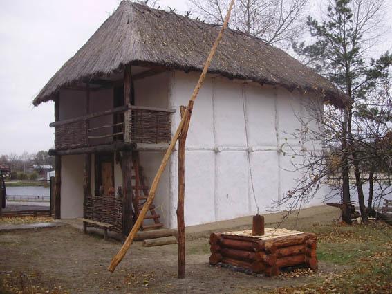 Трипольский дом в натуральную величину