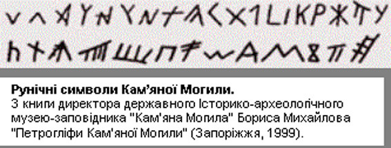 Трипольский шрифт
