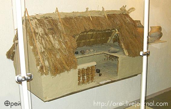 Модель трипольского дома