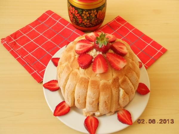 charlotte à la fraises i-3095