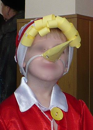 Как сделать костюм носа