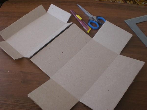 Как сделать шкатулку из картона своими руками фото