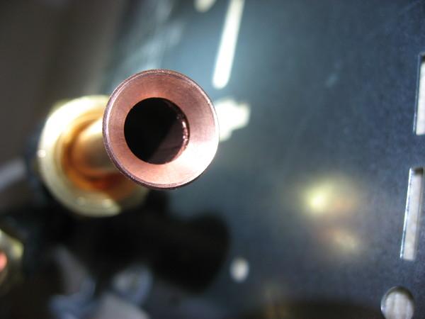 Правильная развальцовка медной трубы