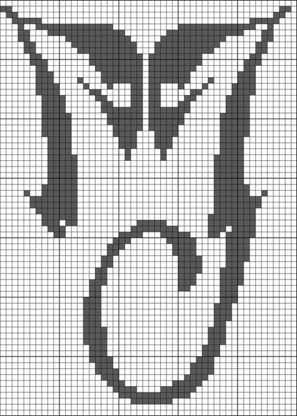 Схема №3 – для вышивки крестом