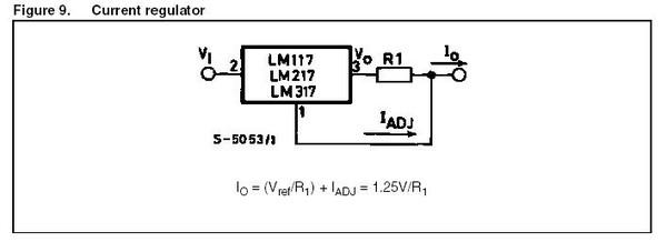 V ref = 1,25 V
