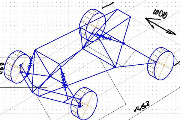 Строю мини квадрик