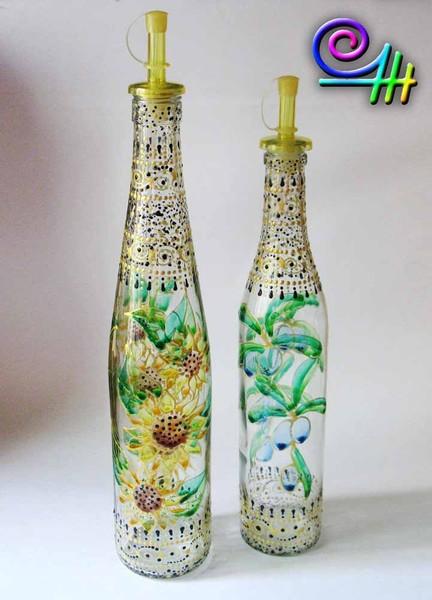 Оксана OZur декор бутылок